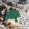 11.11.2018 / Bursa'da Kapanan Mermer Ocakları Havuza Dönüştü! Köylüler Tedirgin